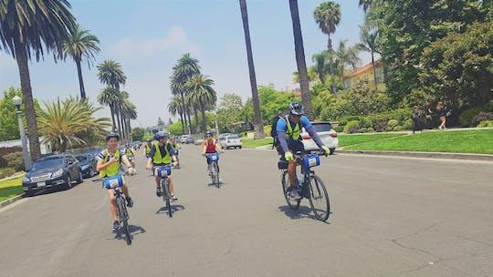 LA em uma aventura de bicicleta diurna