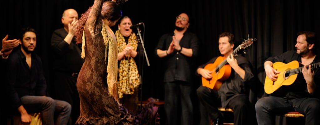 Spectacle de flamenco à la Casa Patas à Madrid