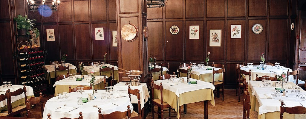 Dinner and Opera in a typical restaurant in the heart of Florence