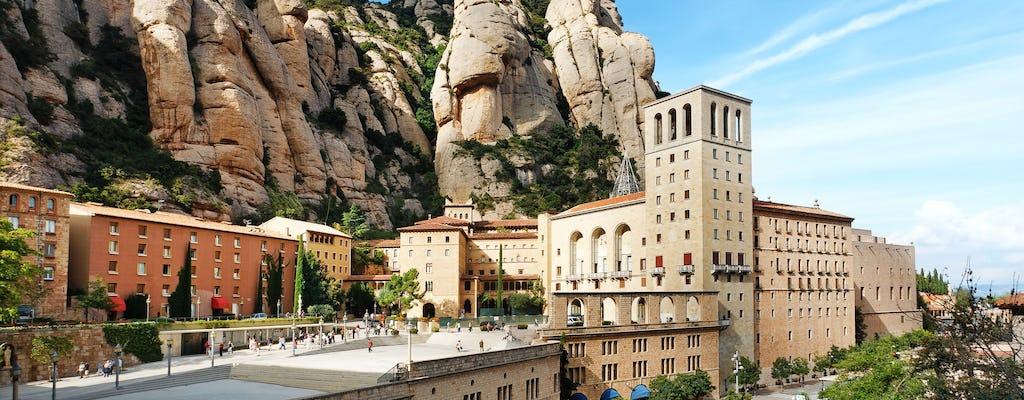 Tour combinato: Barcellona e Montserrat con treno a cremagliera
