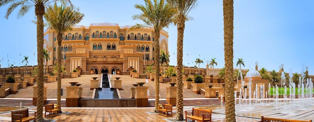Abu Dhabi Stadtbesichtigung ab Dubai