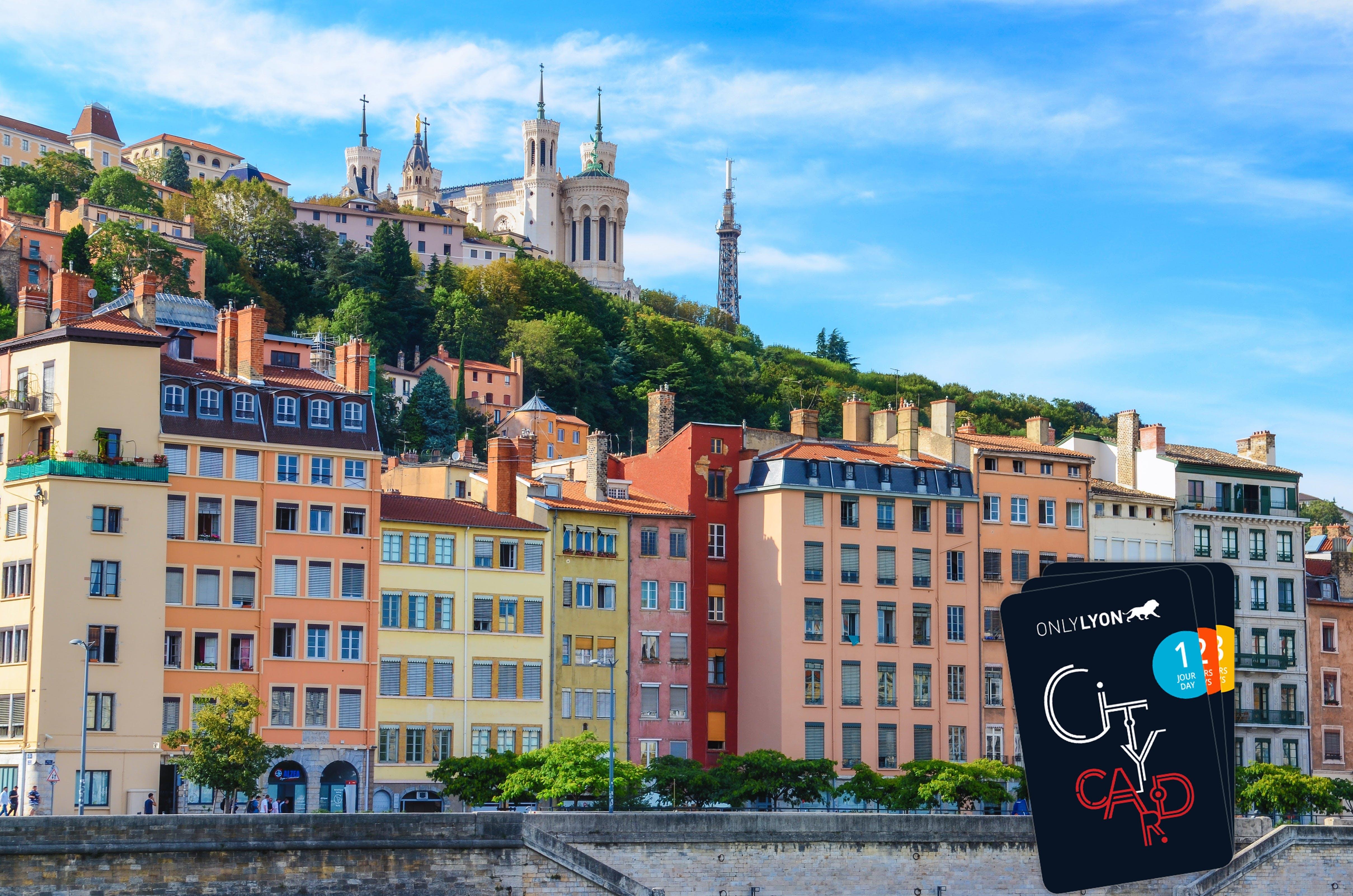 Ver la ciudad,Tickets, museos, atracciones,Pases de ciudad,Entradas a atracciones principales,Lyon City Pass