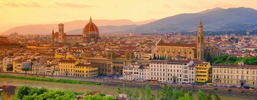 Florence evening guided tour with gelato tasting