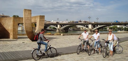 Seville bike tour with full day bike rental
