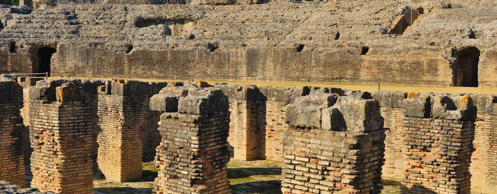 Italica guided tour and panoramic bus tour of Seville