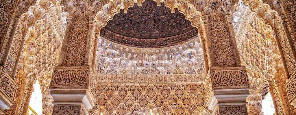 Wycieczka z przewodnikiem do Alhambry z Sewilli