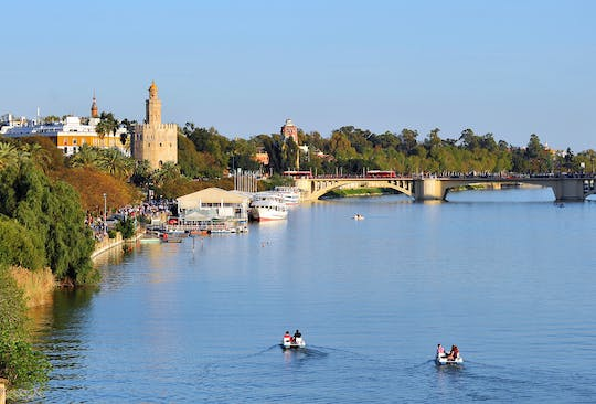 Seville kayaking tour on the Guadalquivir river