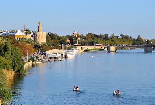 Recorrido en kayak por el río Guadalquivir en Sevilla