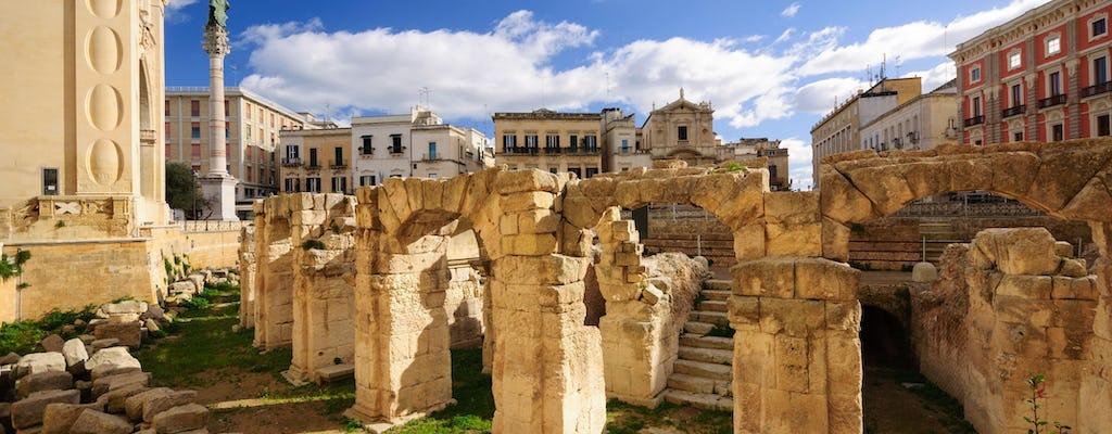 Tour privato di Lecce e Gallipoli da Matera