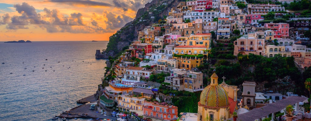 VIP Wycieczka do Amalfi Coast z Rzymu szybkim pociągiem