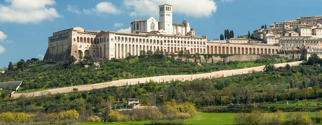 Rondleiding door Assisi voor kleine groepen