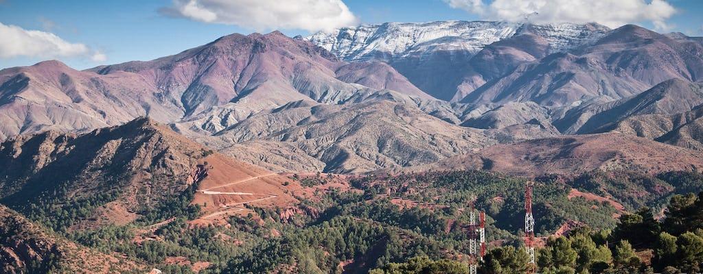 Excursión de un día guiada por las montañas Atlas y los 4 valles desde Marrakech