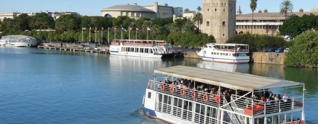 Bilhetes de cruzeiro no Guadalquivir e audioguia