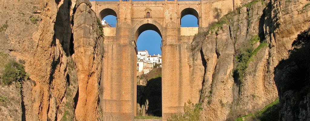 Day trip to Ronda and Andalusia white villages from Seville