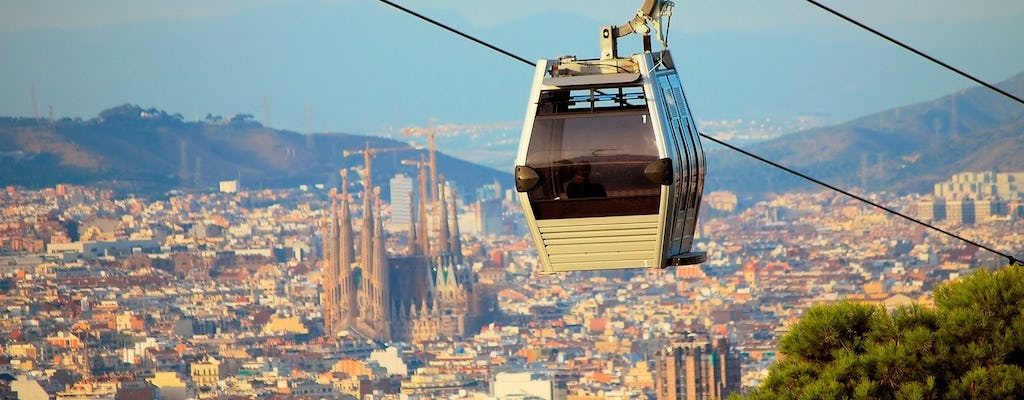 Barcelona 360º full-day eBike,  cable car and boat tour with fast-track tickets to the Sagrada Familia