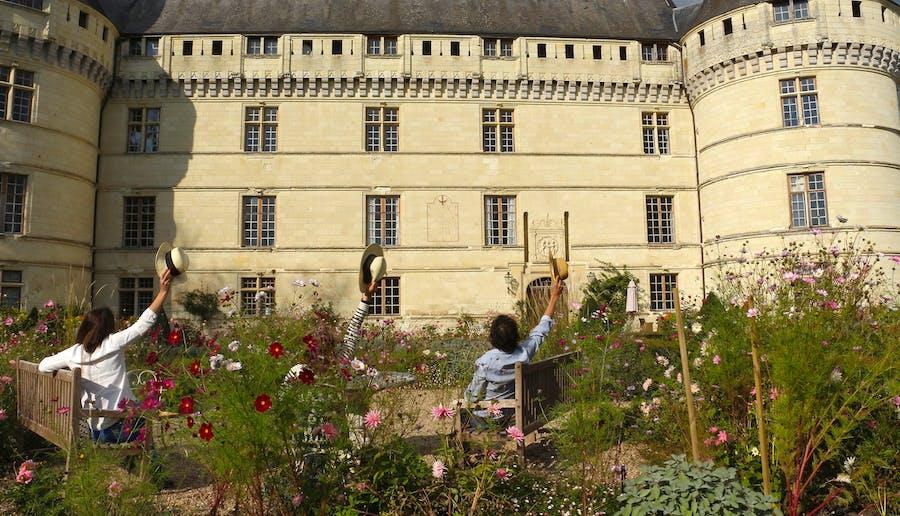Visite de Villandry, Azay-le-rideau et château de famille depuis Tours