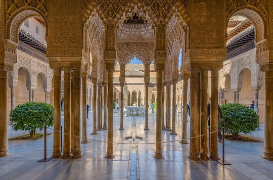 Alhambra am Morgen Tickets und Audioguide