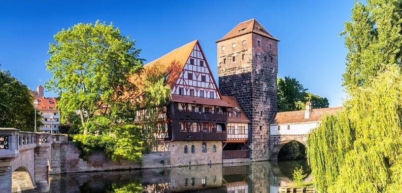 Ver la ciudad,Ver la ciudad,Salir de la ciudad,Tours andando,Excursiones de un día,Excursion a Nuremberg,En tren