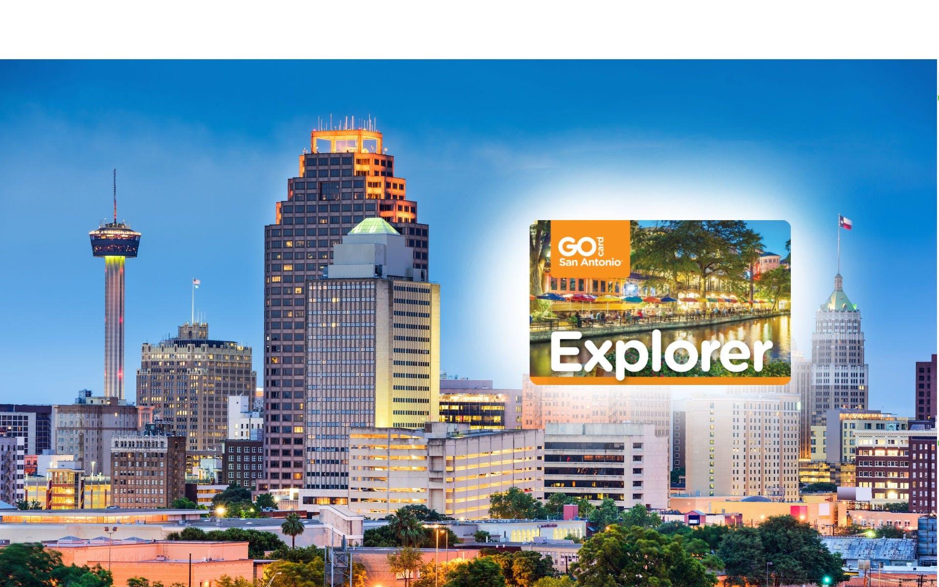 Ver la ciudad,Tickets, museos, atracciones,Pases de ciudad,Entradas a atracciones principales,San Antonio City Pass