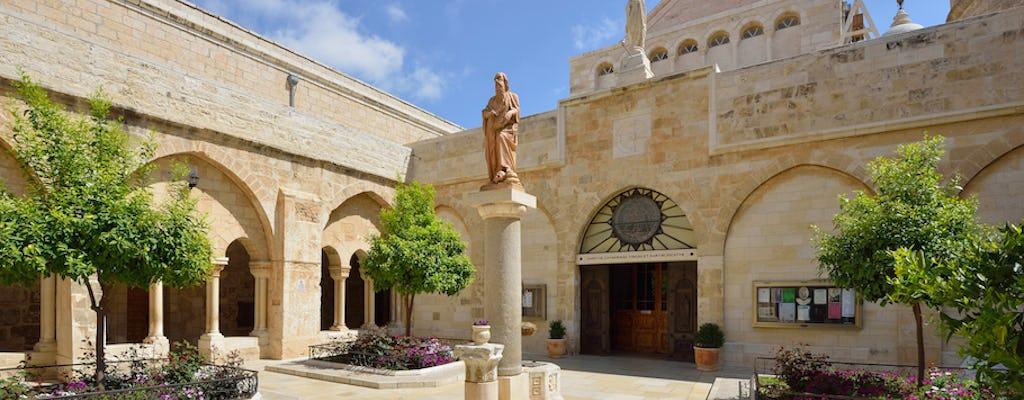 Jericho and Bethlehem tour from Jerusalem