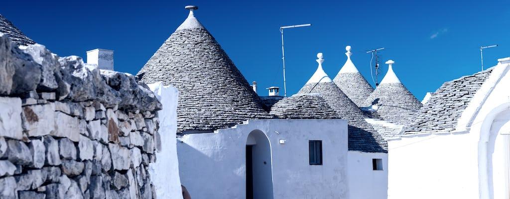 Escursione di un giorno a Ostuni, Alberobello e Polignano a Mare con partenza da Matera