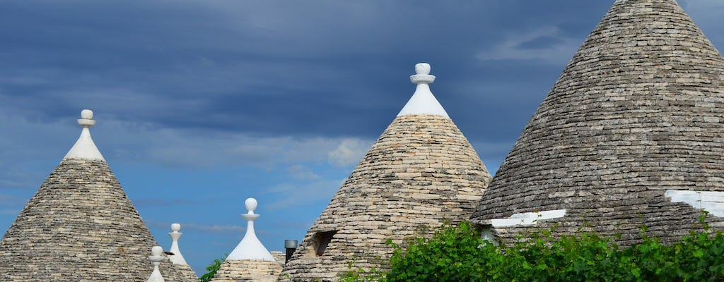 Ostuni, Alberobello and Polignano a Mare day tour from Bari