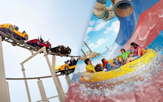 Pass combinati per Ferrari World e Yas Waterworld