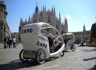 Tour di Milano in risciò