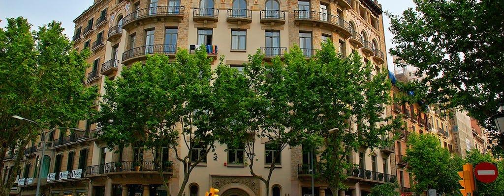 Découverte à pied de Gaudí et du Modernisme