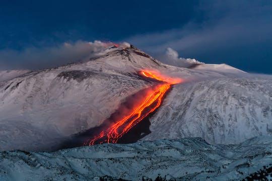 Visite d'une demi-journée du volcan Etna en buggy