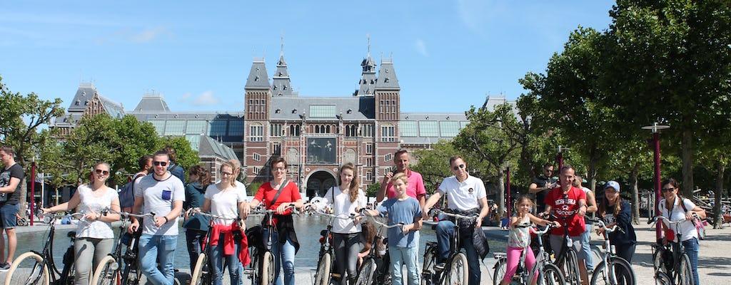 Amsterdamska historyczna wycieczka rowerowa