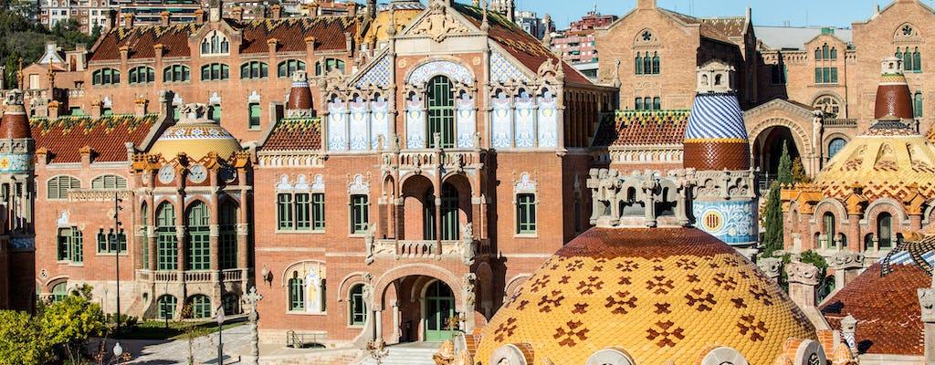 Fast-track entrance and guided tour of Sagrada Familia and Sant Pau Art Nouveau Site