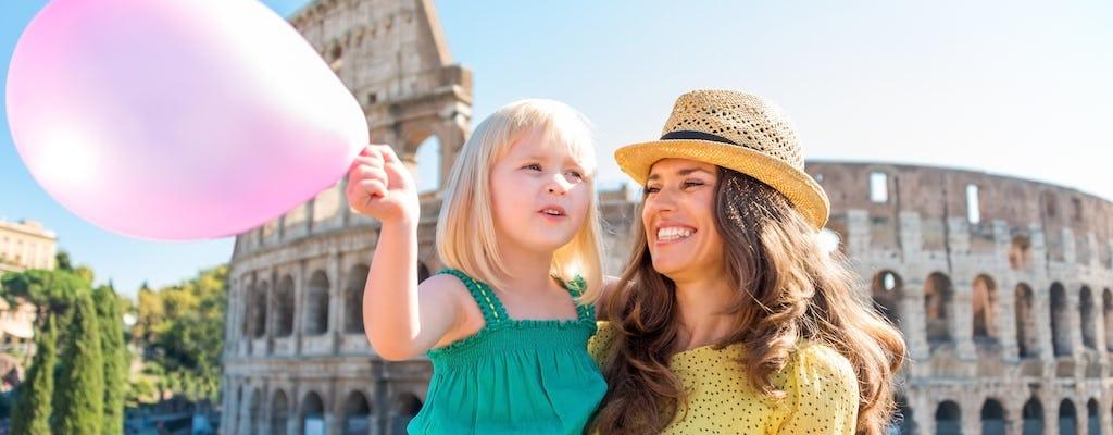 Visita guidata per bambini al Colosseo