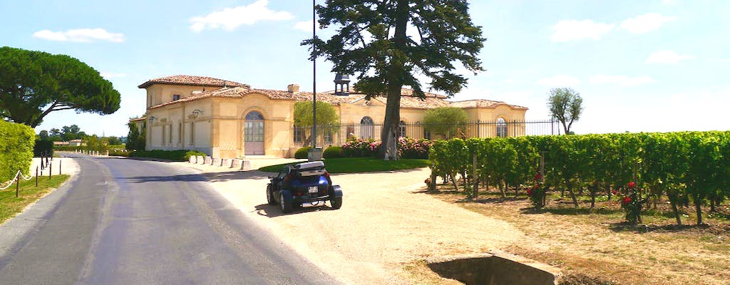Saint-Emilion cabriolet tour from Bordeaux