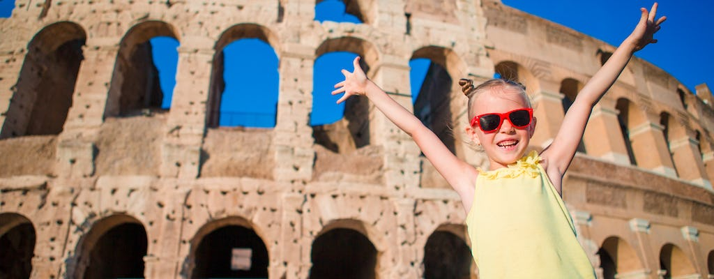 Best of Rome adventure – private walking tour for kids