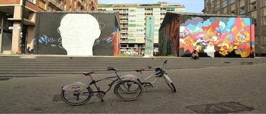 Street art bike tour in Bologna