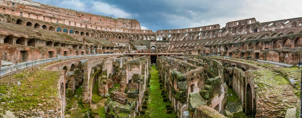 Colosseum guided tour with arena floor special access, Palatine Hill and Roman Forum