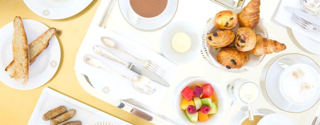 Desayuno en Ore - Ducasse au Château de Versailles