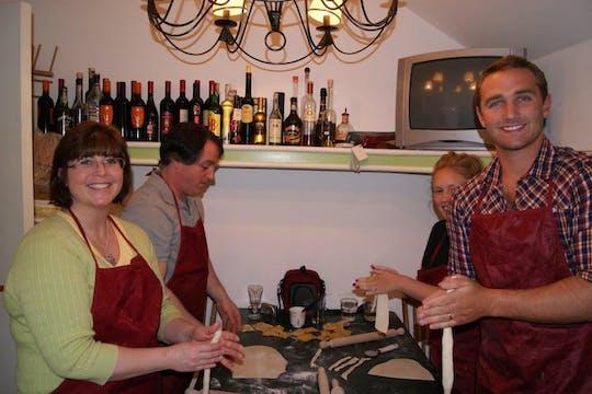 Día de cocina en el campo romano