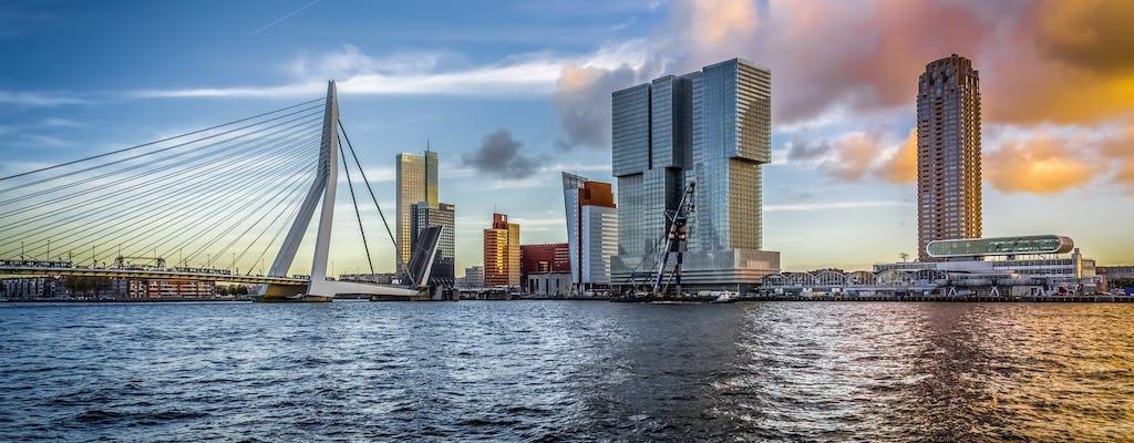 Cartão de boas-vindas a Rotterdam