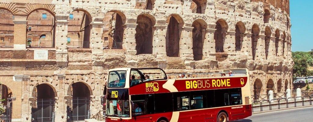Passagens Big Bus para hop-on hop-off em Roma por 24, 48 ou 72 horas