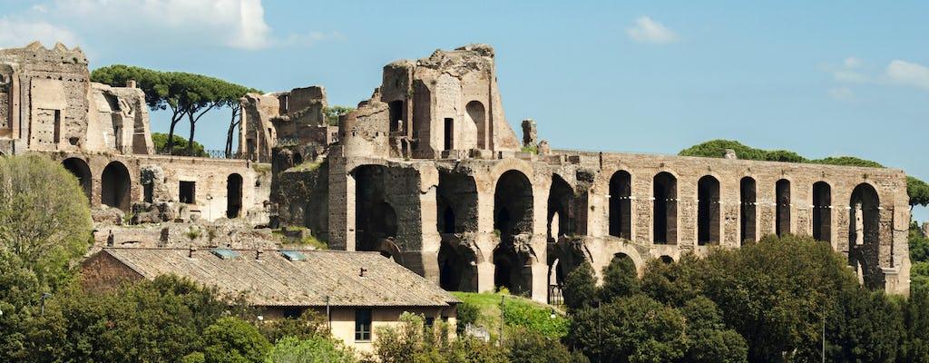 Tour por el Circo Máximo, las Termas de Caracalla y el monte Aventino en grupos reducidos