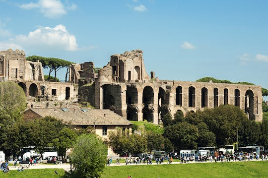 Circus Maximus, Caracalla Bath & Aventine Hill small group tour