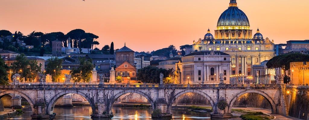 Exklusive Nachttour durch die Vatikanischen Museen mit Abendessen im Cortile della Pigna