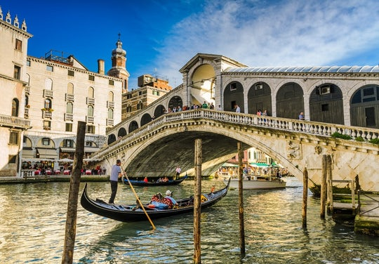 Gondola ride experience in Venice