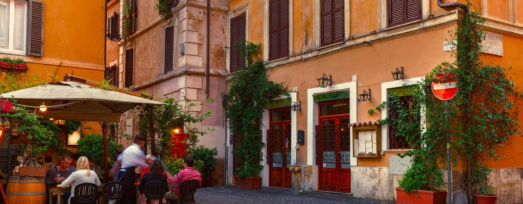 4-hour food and wine walking tour around Rome