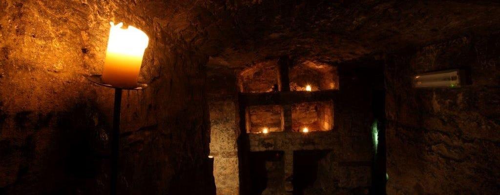 Historic underground walking tour of Edinburgh