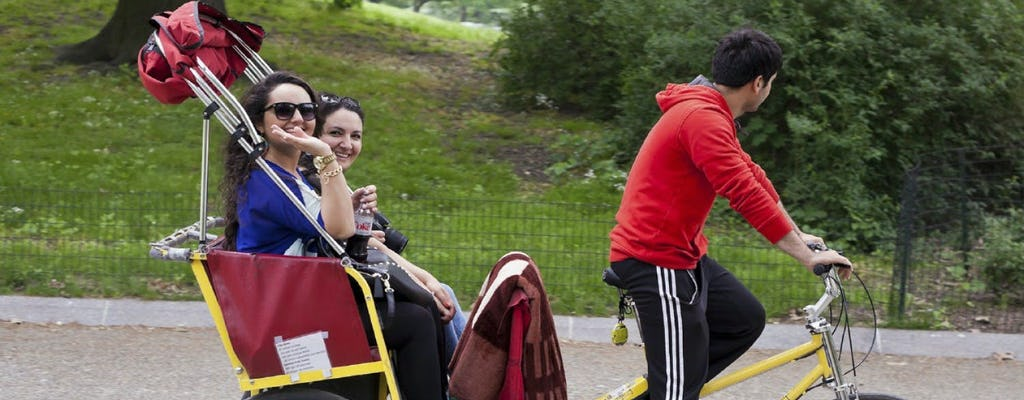 Tour de pedicab en Central Park
