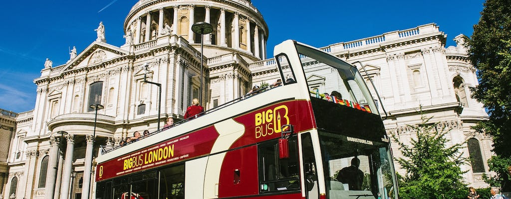 Billete para el bus turístico de Big Bus por Londres
