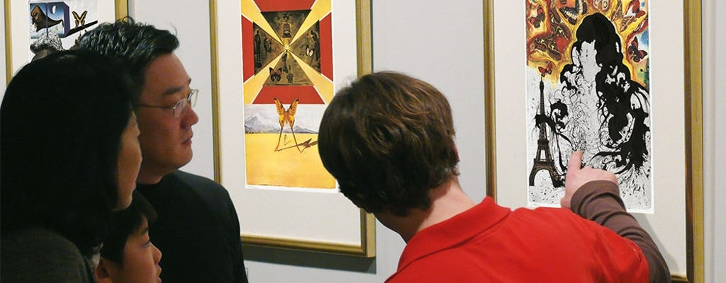 "Guided tour of ""Dalí – The Exhibition at Potsdamer Platz"""